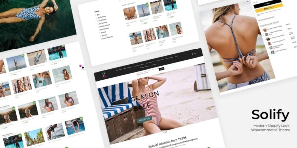 Solify Shopify look Woocommerce Theme