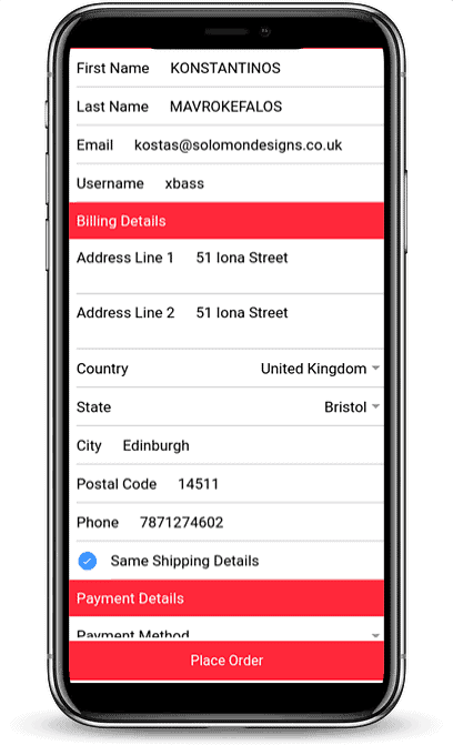Solify | iOS / Android Mobile Application 6